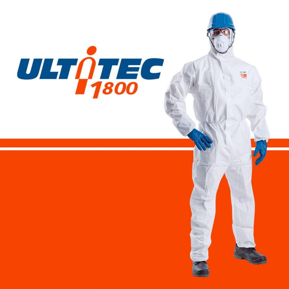 Bộ quần áo chống hóa chất ULTITEC 1800FR