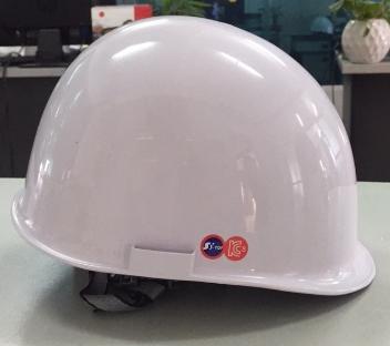 Mũ bảo hộ lao động SStop trắng