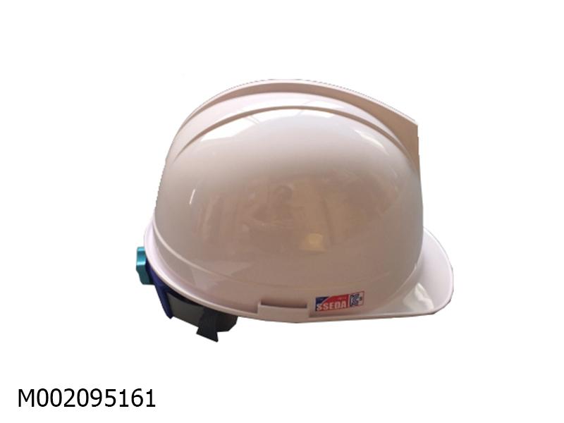 Mũ AT Sseda Fashion 1 Slot màu trắng (mặt tròn có gài)