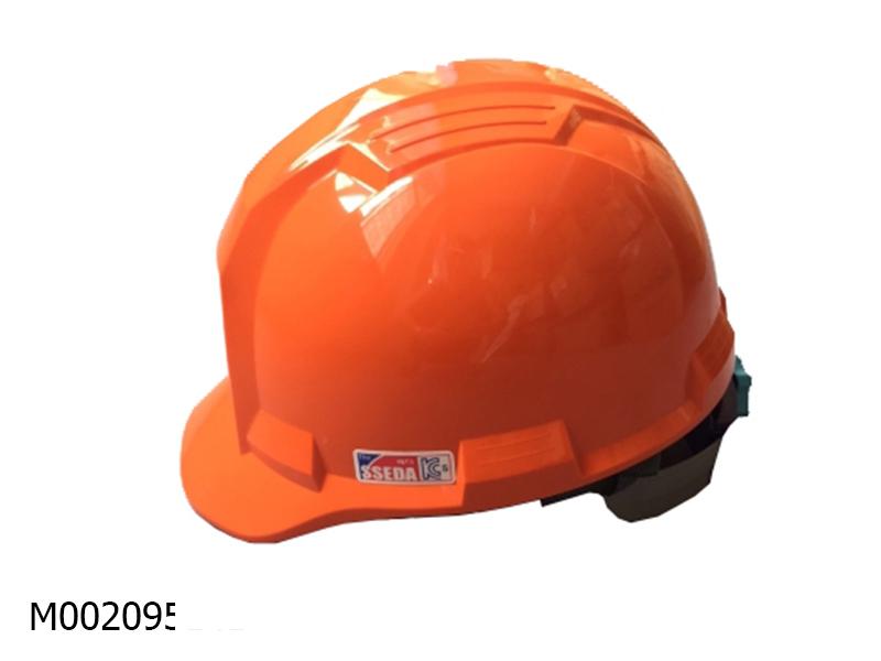Mũ an toàn SSEDA IV Hàn Quốc có mặt phẳng màu vàng cam