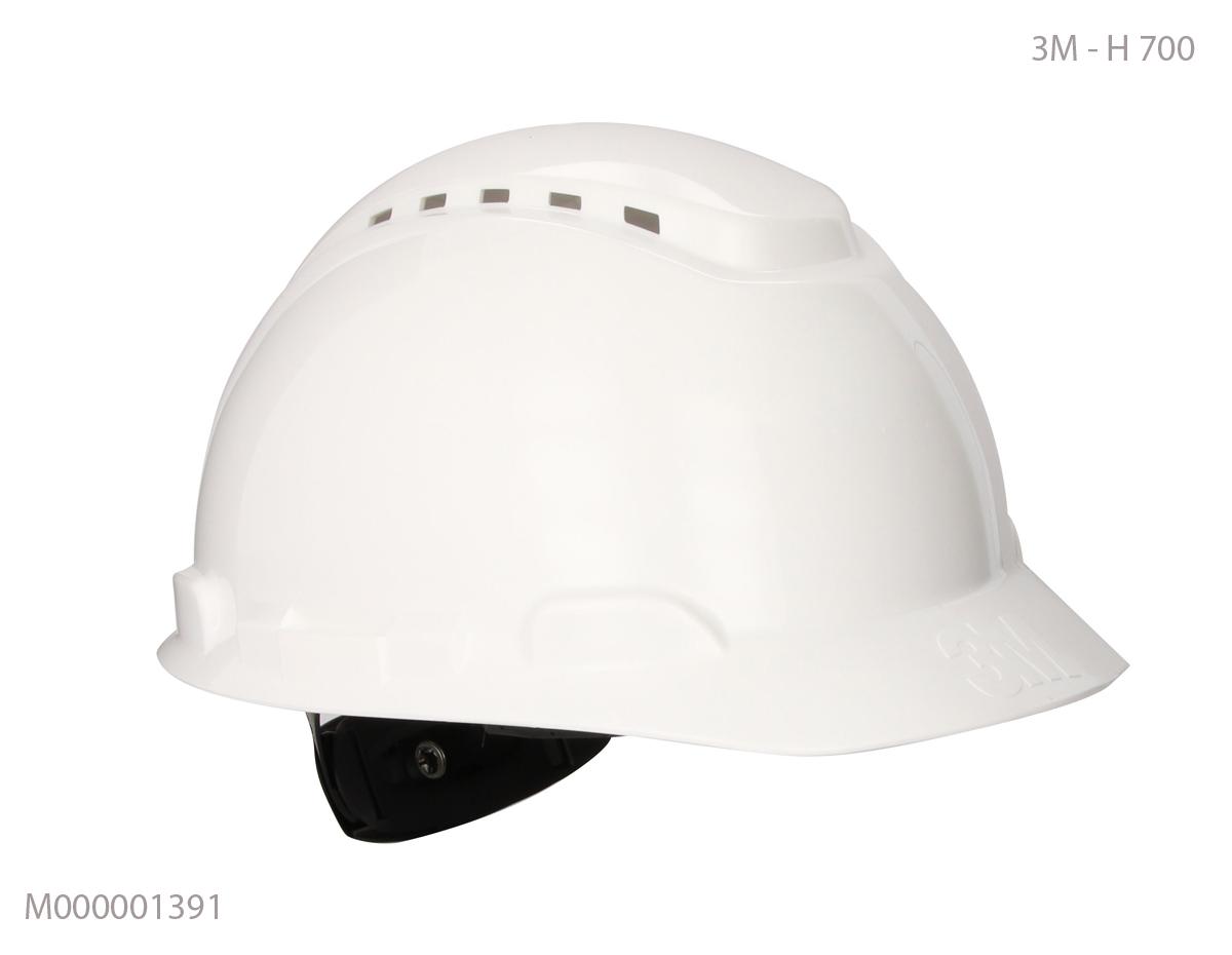Mũ an toàn Mỹ 3M  trắng H-700