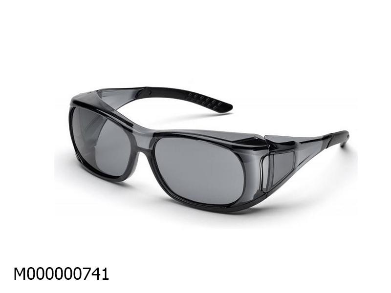 Kính đeo ngoài kính cận elvec SG-37G màu đen