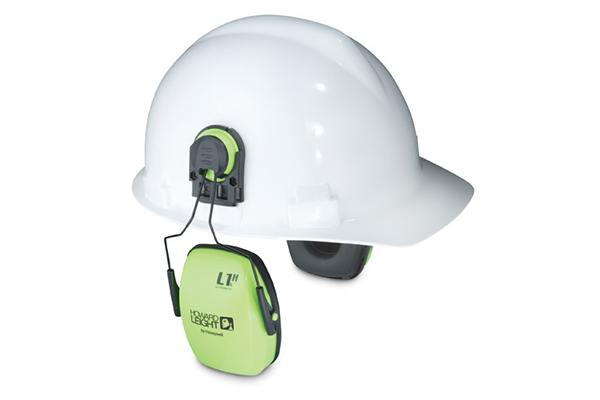Howard Leight 1015020 Leightning® L3HV Hi-Visibility Cap Mount Ear Muffs - NRR23