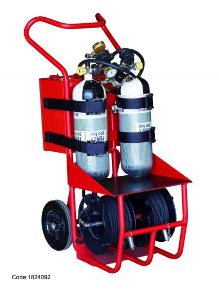 Thiết bị hỗ trợ thở Trolley 4 Có thể kết nối với hệ thống cấp khí của nhà máy ( Airline + Plant Air) 1824092