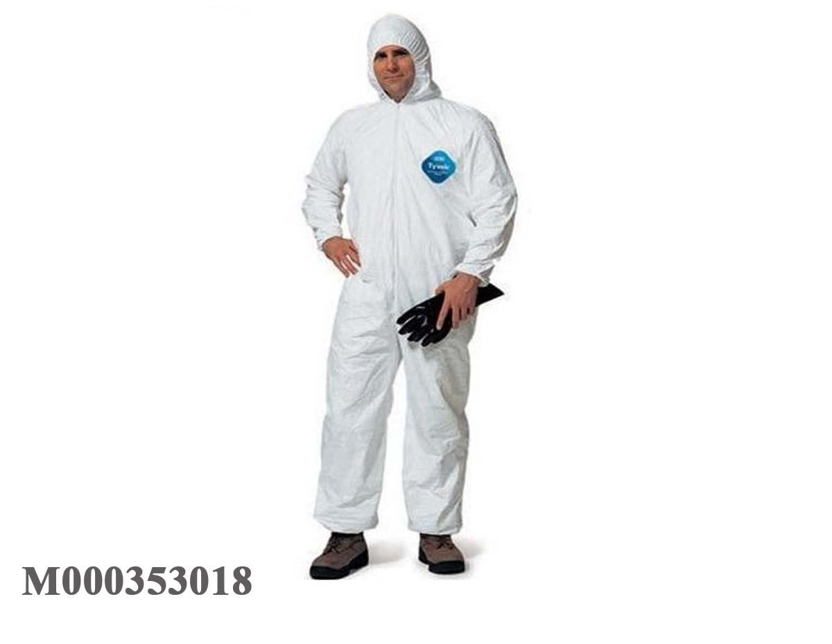 Quần áo chống hóa chất Hàn Quốc màu trắng TYVEK
