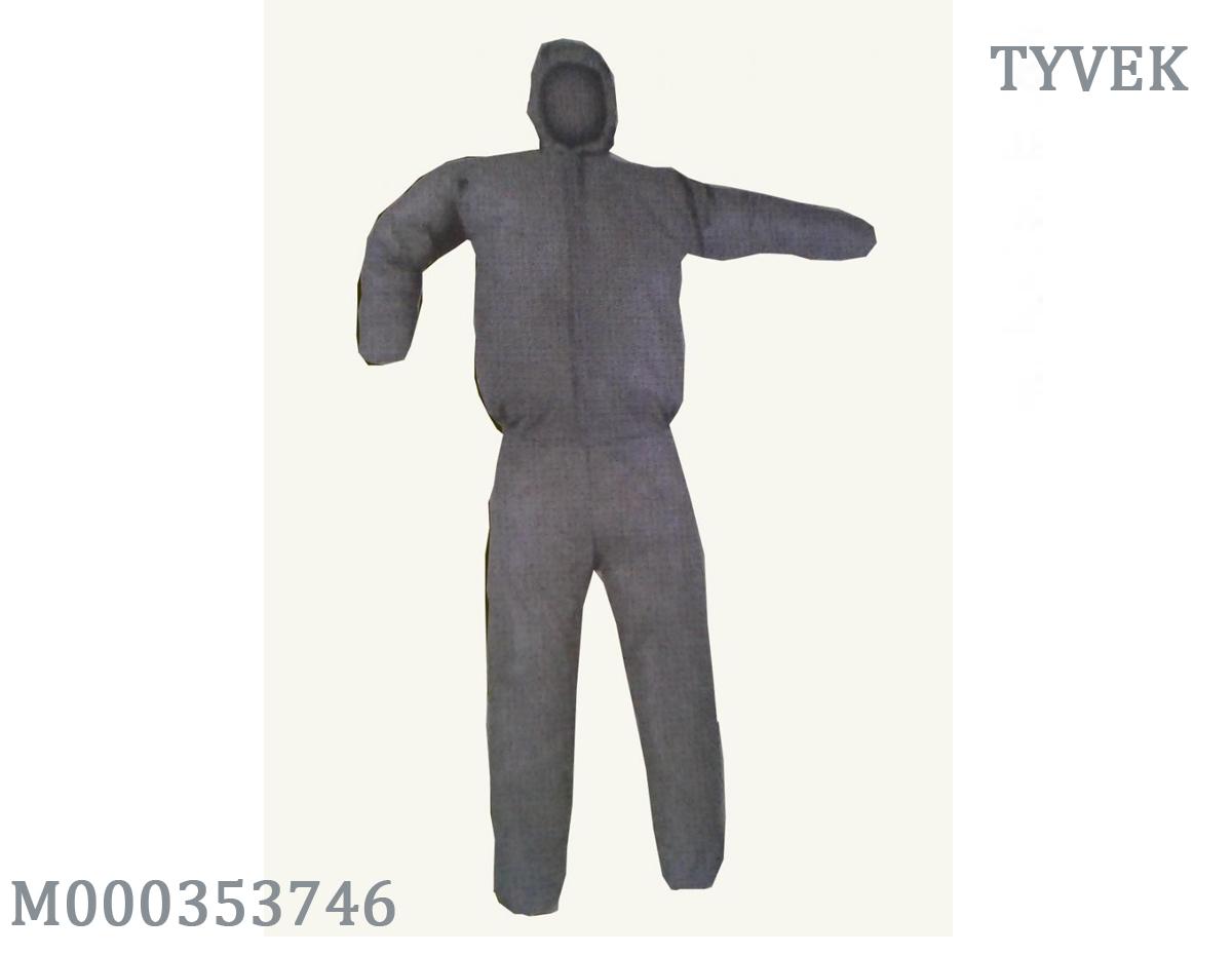 Quần áo chống hóa chất Hàn Quốc màu xám