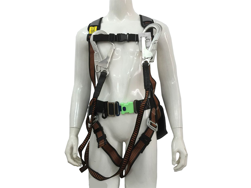 Safety Harness  white 02 hook A/L