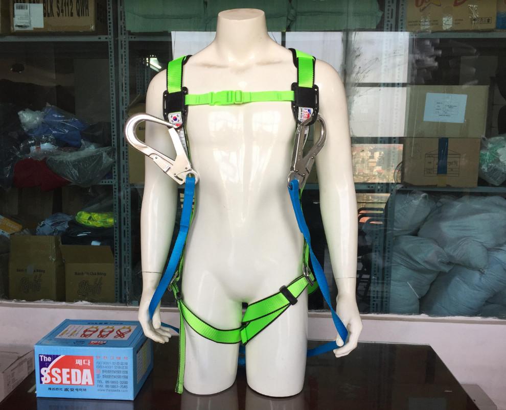 Dây an toàn toàn thân SSEDA 2 móc nhôm SAH-1024-2