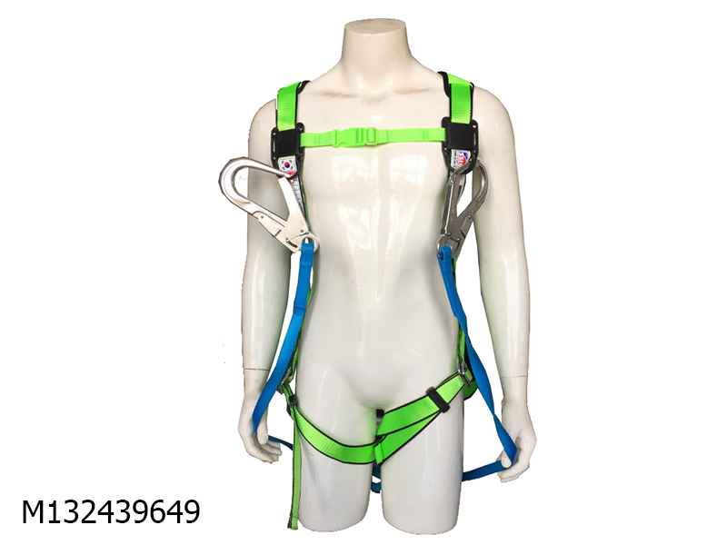 Safety Harness  white 2 hook A/L